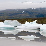 Gletschersee - Lagune - Lagoon - Island - Iceland