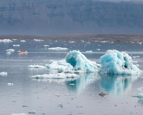 Iceland - Glaciar - Lagoon - Ringstraße - Island