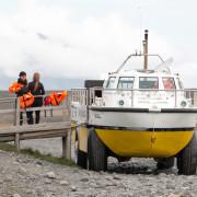 Amphibienfahrzeug - Ausflugsboot