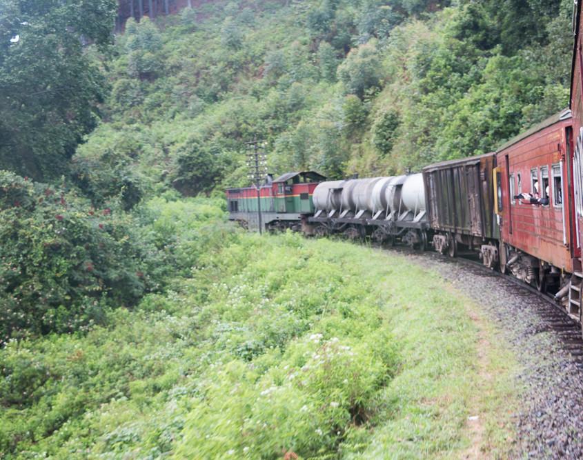 Train - Sri Lanka - Hochland
