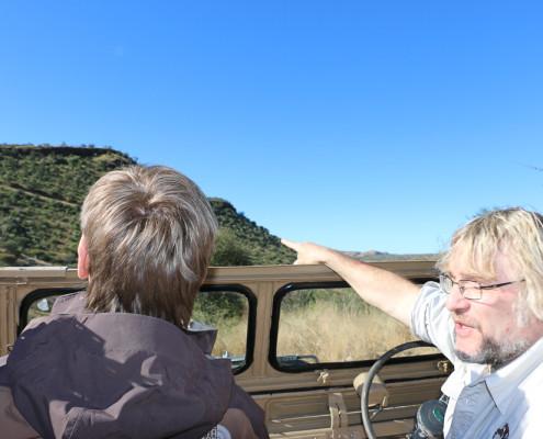 Namibia - Windhoek -Stadtrundfahrt mit Carsten Möhle - Bwana Tucke Tucke