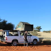 Bagatelle Kalahari Game Lodge - Camping