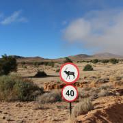 Weg vom Desert Horse Inn zum Eagles Nest - Namibia