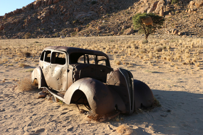 Banditen Auto