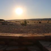 Dusche mit atemberaubendem Ausblick im Tsondab Valley - Namibia