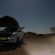 Kurz vorm Schlafengehen - Sternenhimmel im Tsondab Valley