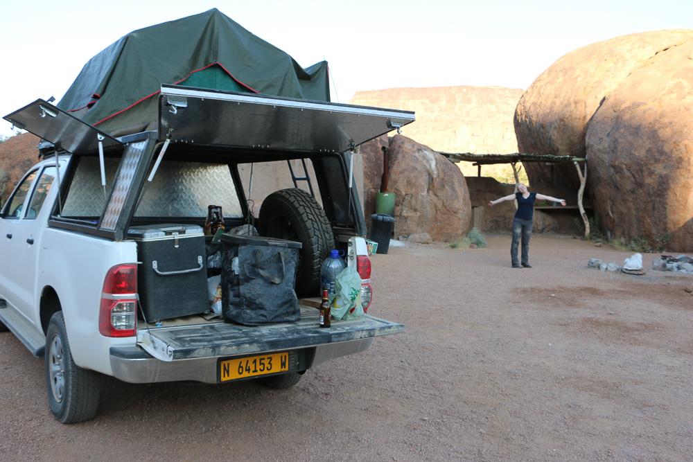 Mowani Mountain Campsite - Campground 2