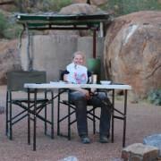 Mowani Mountain Campsite - Ausblick von Campsite 2