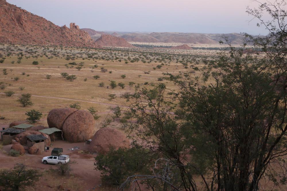 Mowani Mountain Campsite - Sundowner