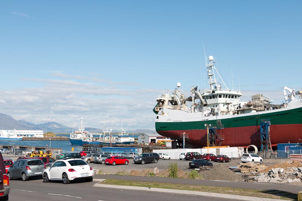 lavafelder nähe reykjavík
