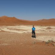 Weg durch die Dünen zum Deadvlei
