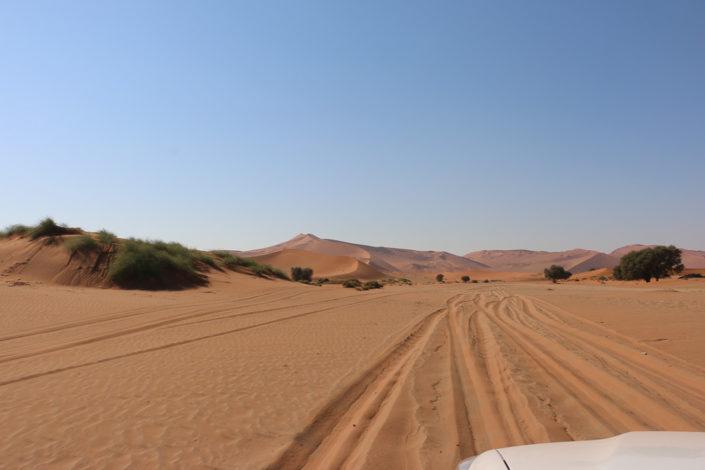 Offroad Strecke zum Sossusvlei