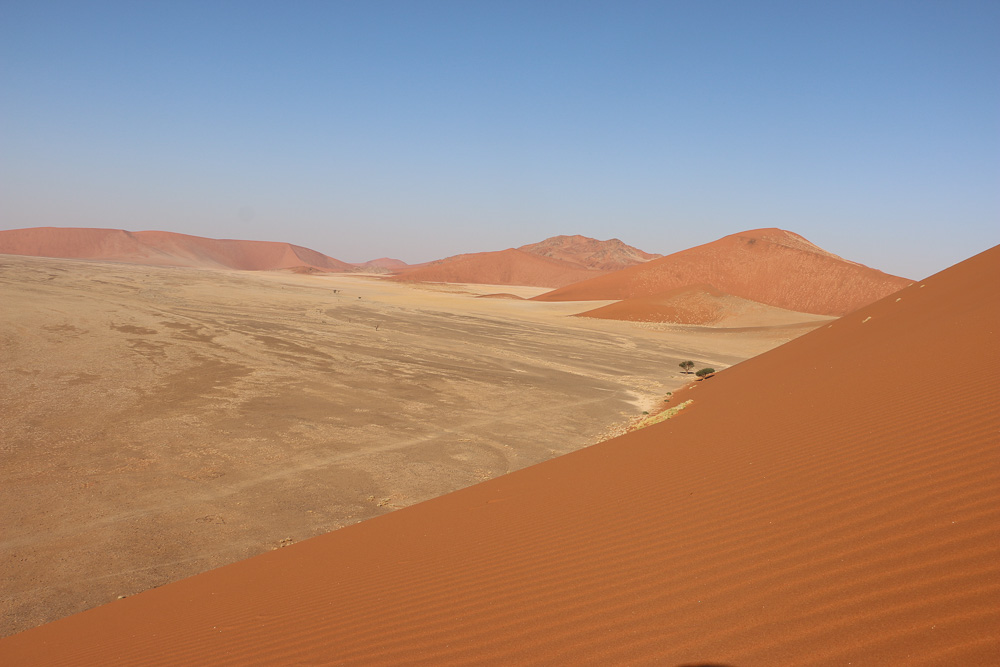 fahre hohe dune