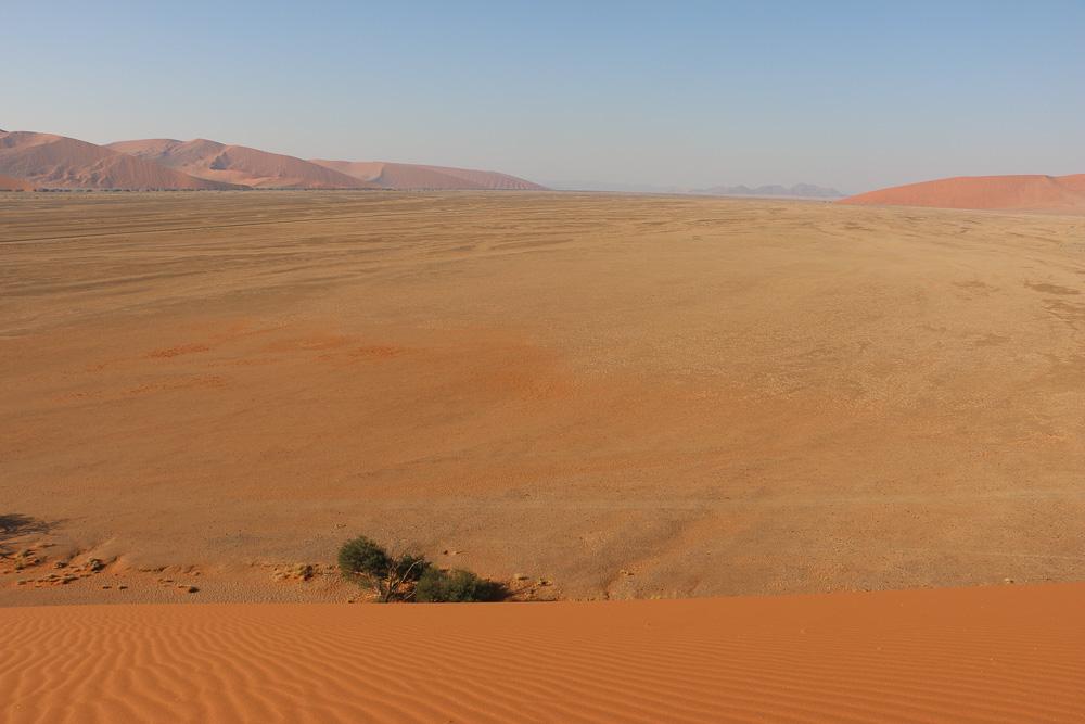 Blick von der Düne 45 im Sesriem Nationalpark