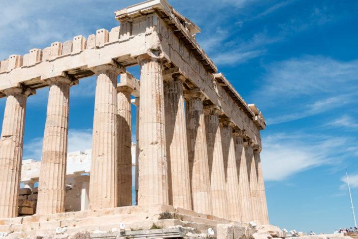 Parthenon Tempel auf der Akropolis Athen - Ausflug auf unserer Mein Schiff Kreuzfahrt