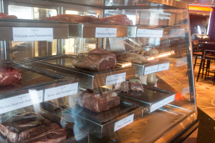 Fleisch Surf and Turf Steakhouse Mein Schiff