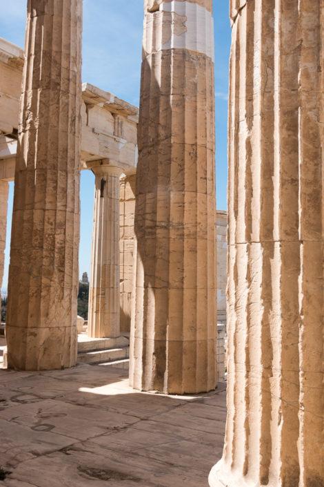 Säulen zur Akropolis