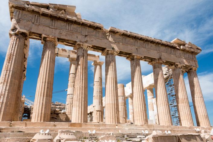 Parthenon Tempel auf der Akropolis