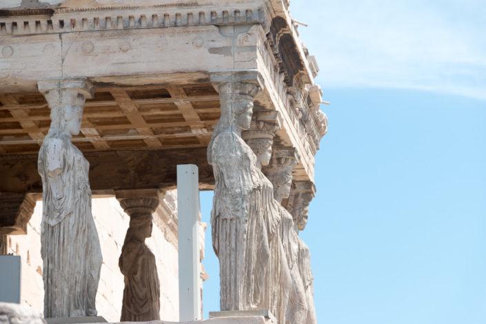 Die Karyatiden am Erechtheion Tempel