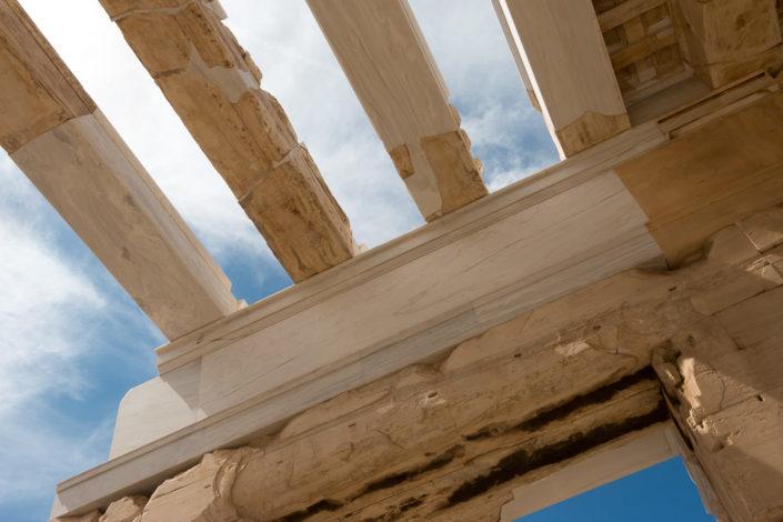 Impression von der Akropolis