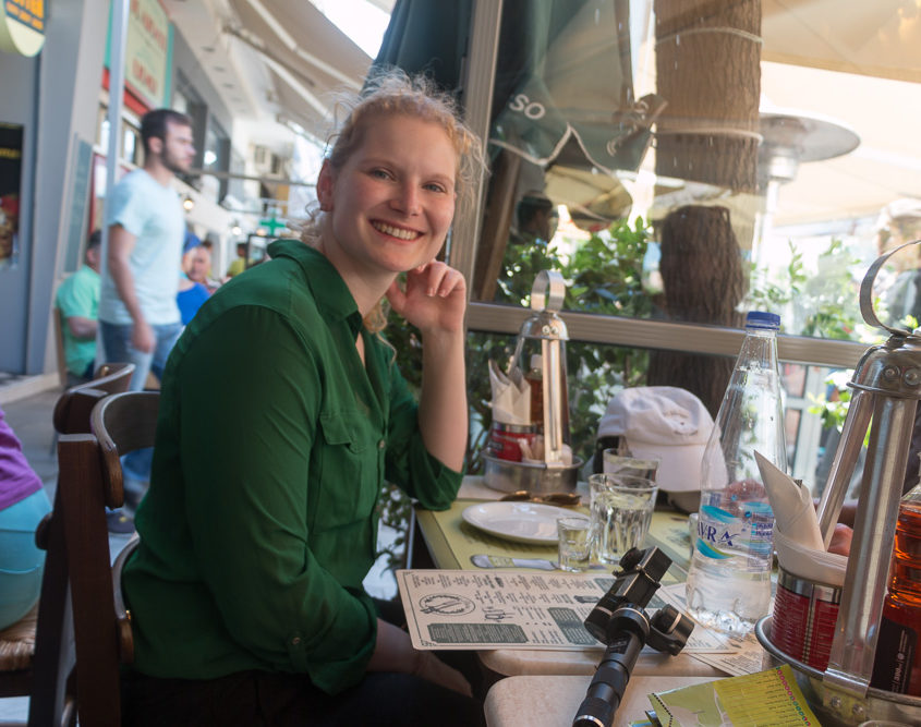 Mittagessen in Athen
