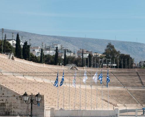 Panathinaiko Stadion in Athen Mein Schiff Kreuzfahrt