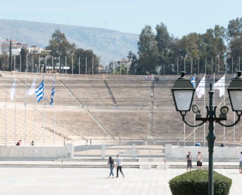 Panathinaiko Stadion Hop on Hop off Bus Athen