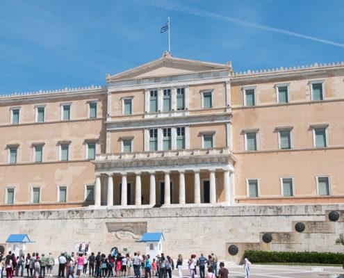 Parlament Athen Mein Schiff