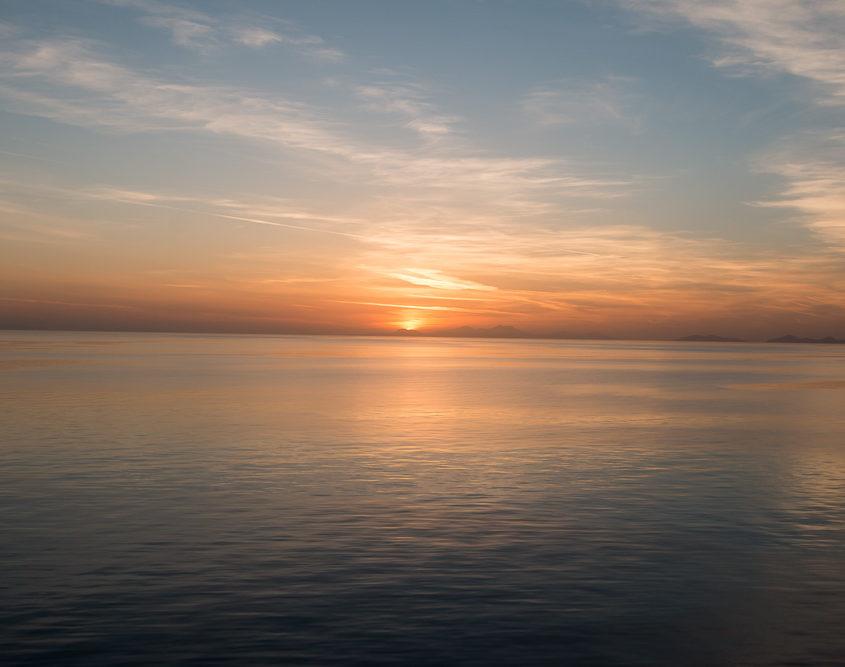 Stimmung am Abend Mein Schiff