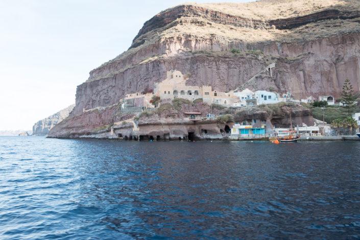 Mein Schiff Reisebericht -Santorin - Kreuzfahrt - Hafen Thira