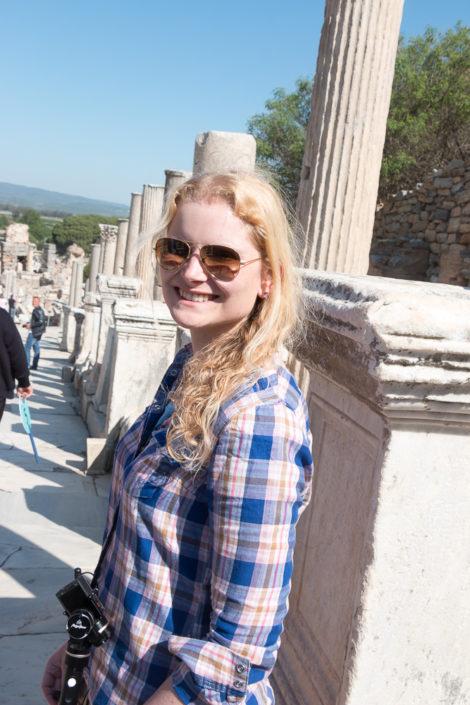 Dodo ist fasziniert von Ephesus