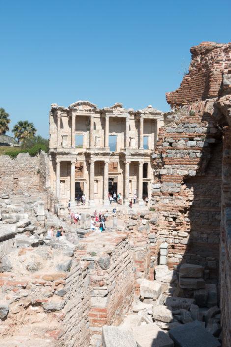 Die Celsus Bibliothek in Ephesus