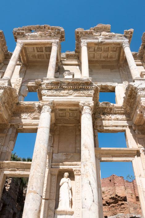 Imposant- Die Celsus Bibliothek in Ephesus