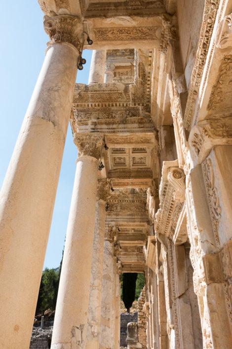 Imposant - die Antike Celsus-Bibliothek
