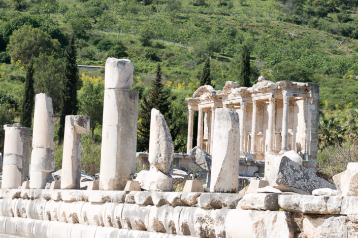 Antike Ausgrabungen in Ephesus