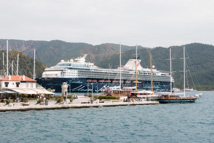 Mein Schiff 2 Hafen Marmaris