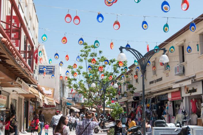 Einkaufsstraße von Kusadasi