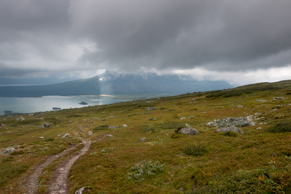 Kungsleden Wanderung zwischen Aktse und Saltoluokta