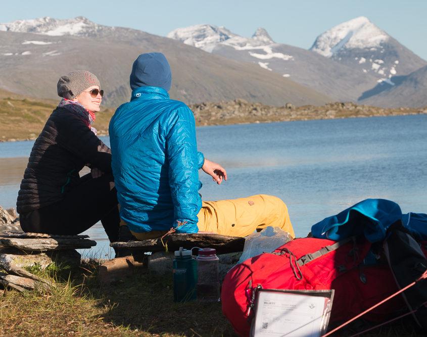 Dirk und Dodo Trekking Schweden