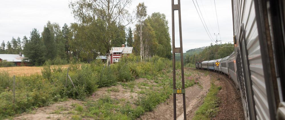 Nachtzug Lappland Schweden