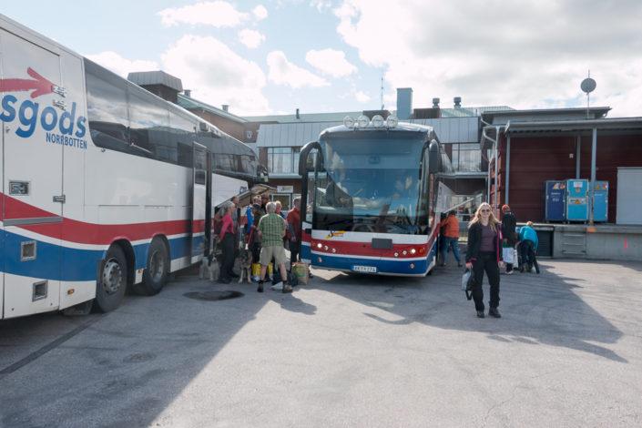 Buslinie 94 - Nordosten - Lappland
