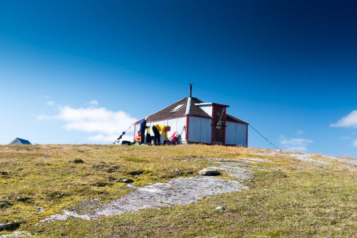 Rentierzüchterhütte