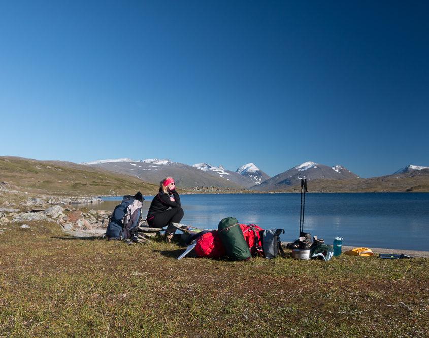 Schlafplatz Lappland