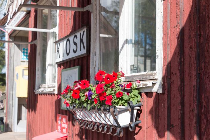 Bahnhof Murjek Nachtzug Lappland Info