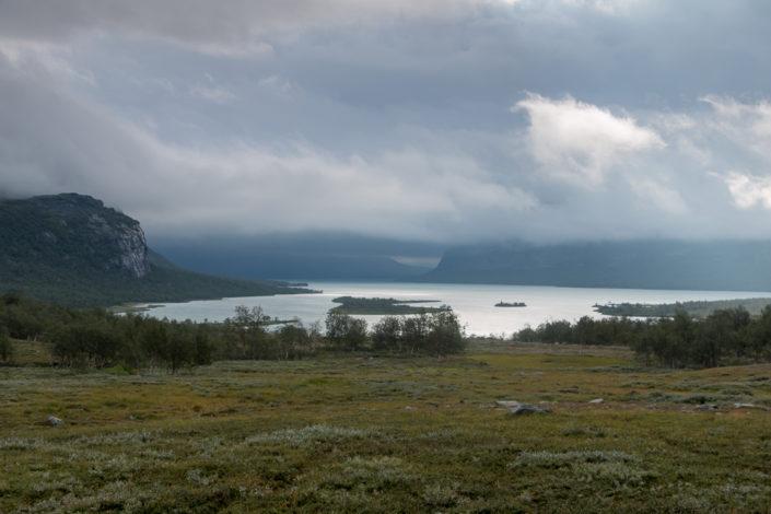 Blick auf die Lagune von Rinim