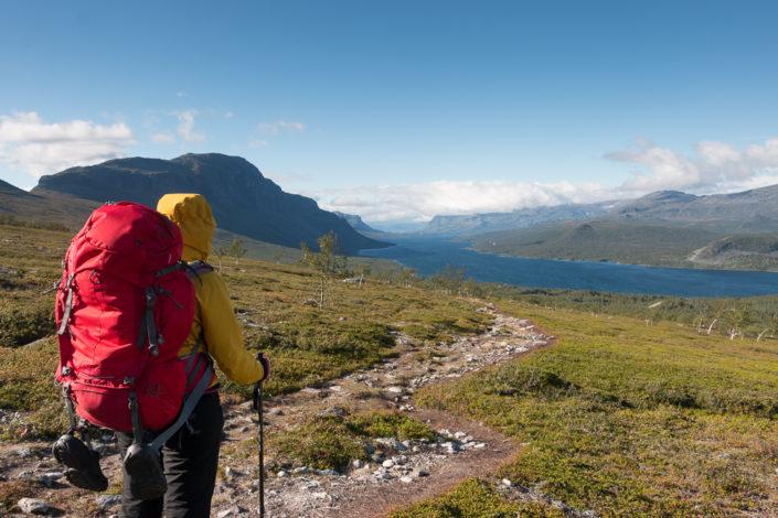 Trekking Kungsleden Lappland Langas