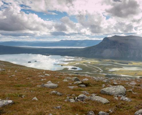 Lappland Schweden Rapadalen Delta