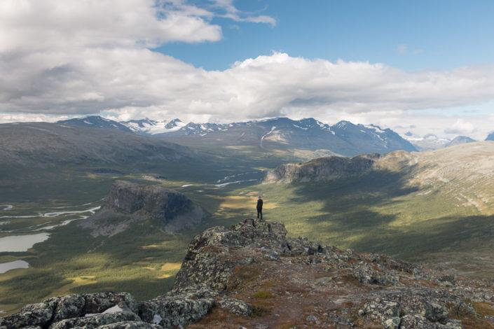 Szenerie Lappland Trekking