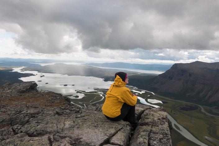 Ausblick Trekking Lappland