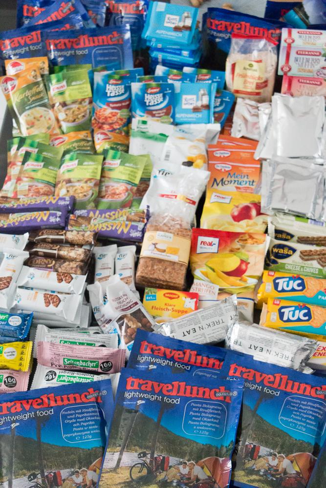 Lebensmittel Schweden Trekking